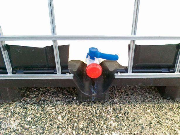 Deposito, cisterna, container de 1100 litros com protecção