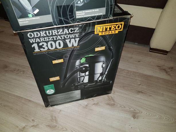 Odkurzacz warsztatowy 1300W Niteo tools