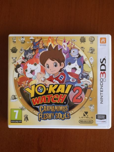 YO-KAI WATCH 2 - Carnánimas Fleshy Souls - Nintendo 3DS