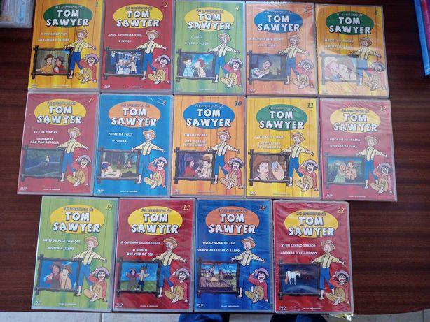 Tom Sawer - 14 DVDs