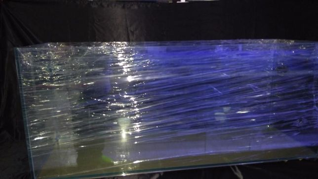 Aquario 100x40x40 em vidro 8mm novo