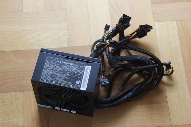 Mocny markowy zasilacz do PC 600W OCZ nowy, gwarancja !!!