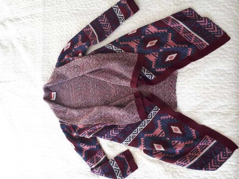 Sweterek jesienny dziewczęcy roz. 134/140 Wysin - image 1