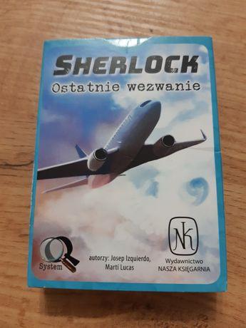 Sherlock ostatnie wezwanie zagadki kryminalne