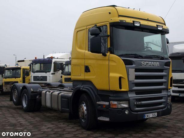 Scania R 420  Rama Do Zabudowy Sypialka 3 Osie Skrętna 6x2