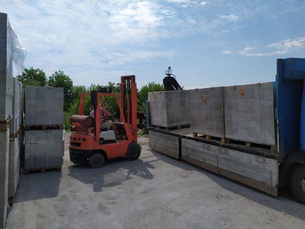 Піноблок, блок,пінобетон,газоблок D600 від виробника.