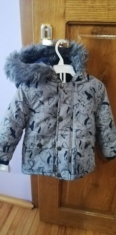 Зимова куртка, парка для хлопчика 9-12міс.