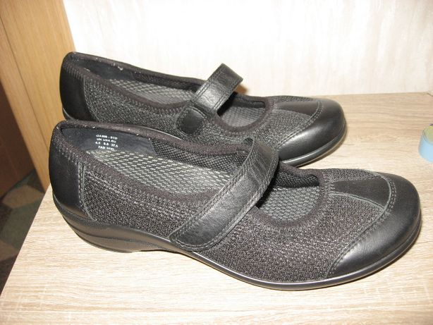 HOTTER COMFORT CONCEPT Damskie buty baleriny skórzane jak nowe 37,5