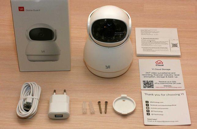 Yi Dome Camera Vigilância PTZ 1080p WIFI (Rotativa / Notificações)