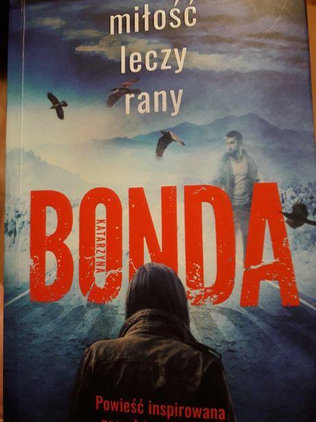 Książka Miłość leczy rany - K. Bonda
