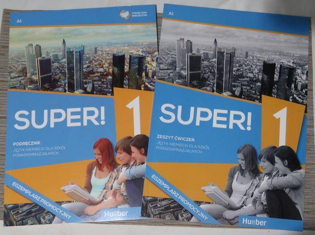 Super ! 1. podręcznik i zeszyt ćwiczeń. do nauka niemieckiego