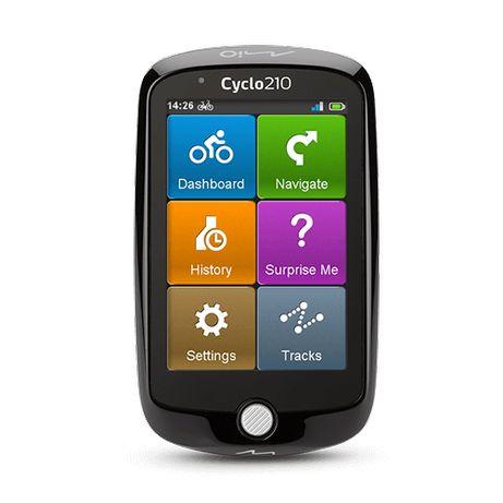 MIO Cyclo 210 Nawigacja Rowerowa GPS EUROPA FULL