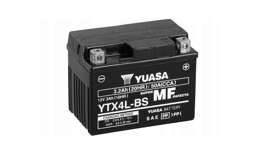 Akumulator YUASA 3Ah YTX4L-BS- MF Promocja!!! Wrocław - image 1