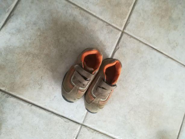 Skórzana buciki rozm 24