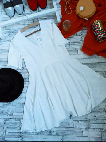 Белое платье. Белый сарафан