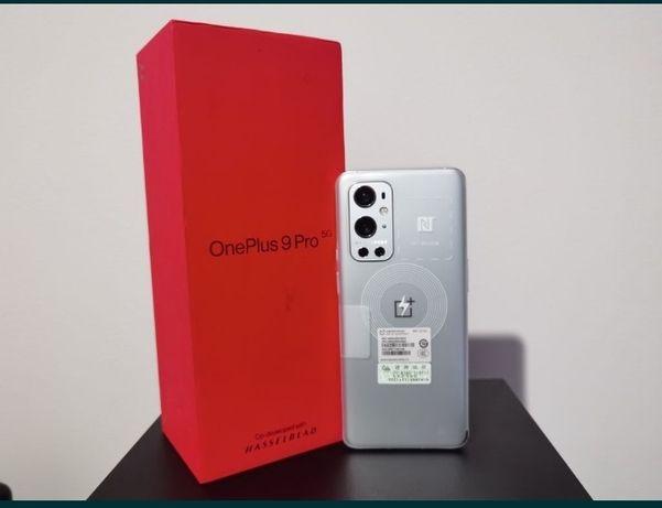 Oneplus 9 Pro 5G névoa matinal 8GB/256GB novo