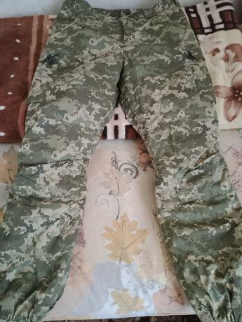 Новые зимние штаны камуфляж
