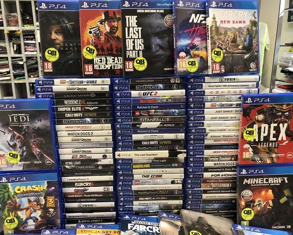 Gry PS4 nowości Najwiekszy wybór w Inowrocławiu