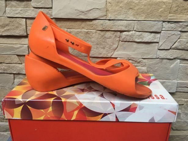 Sandałki Melissa 31213 Optical II SP AD Orange/Pink 38/39 sandały