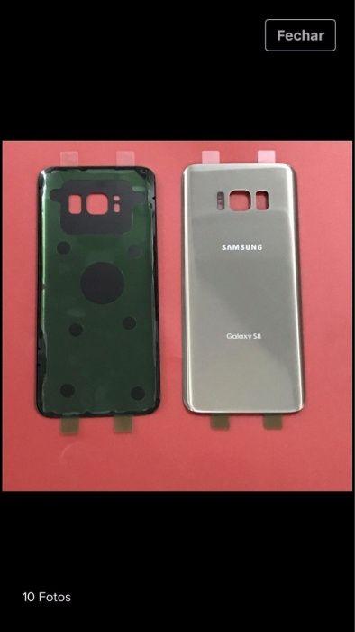 Tampa traseira bateria Samsung s6 s7 s8 s8+ Paranhos - imagem 1