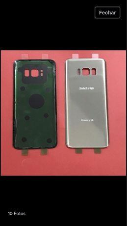 Tampa traseira bateria Samsung s6 s7 s8 s8+