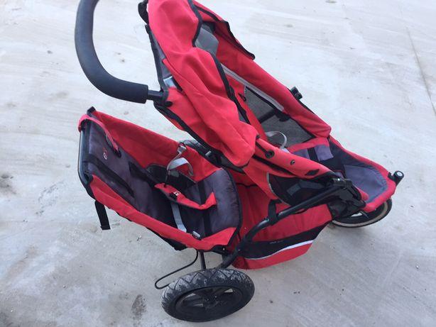 Wózek dla dwójki dzieci  phil&teds