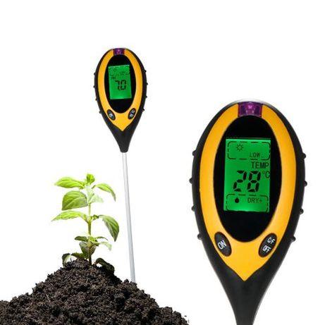 Измеритель кислотности ,влажности ,сонца... в почве 4 в 1