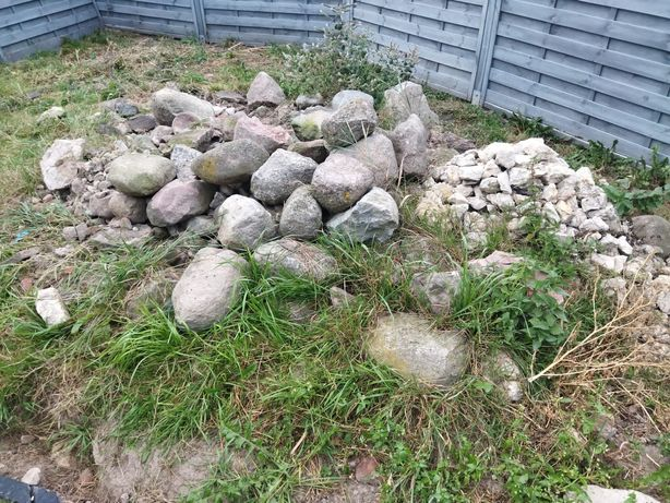 Oddam za darmo kamienie polne