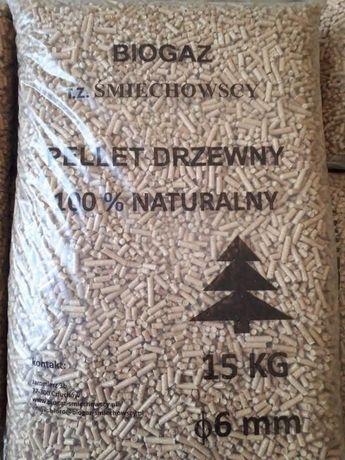 Pellet drzewny 6 mm