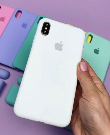 Силиконовый чехол на Iphone айфон 12 XR MAX 11 PLUS 5 7 8 Xs pro SE 6