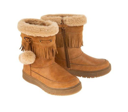 NOWE kozaki zimowe 21 Cool Club SMYK kozaczki buty ocieplane