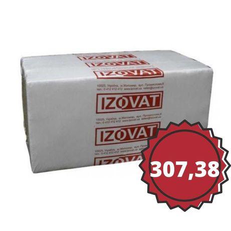 Минеральная вата  Izovat 135 (135, 1000х 600х  50-4шт) уп.2,4м2/0,12м3
