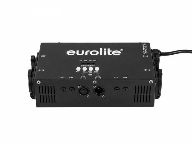 Nowy Eurolite EDX-4RT DMX RDM Dimmer pack