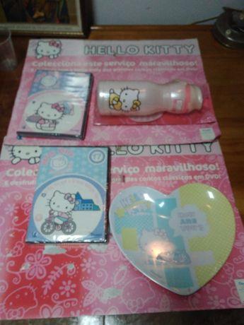 DVD e acessórios Hello Kitty
