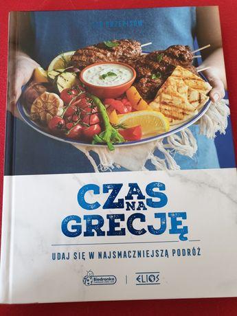 Czas na Grecję książka kulinarna z biedronki