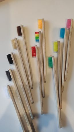 Бамбуковая зубная щетка взрослая