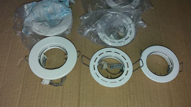 Lote de 10 projetores tipo spot para lâmpadas GU5.3 12V