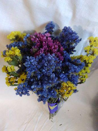 Букеты из сухоцветов(статицы)