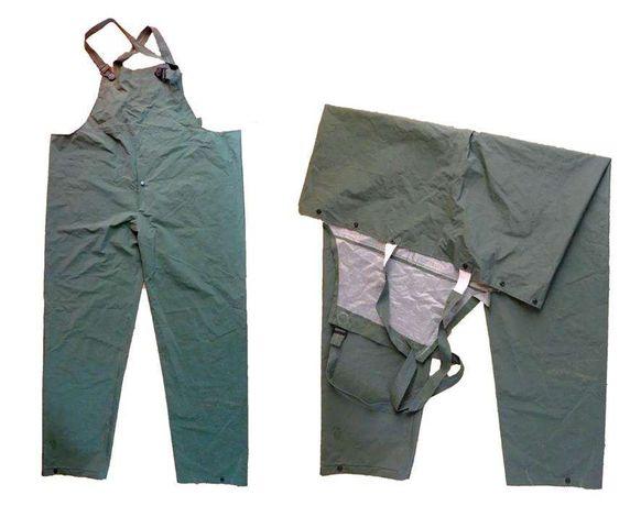 Spodnie wodoodporne PCV SPD /stan bdb/