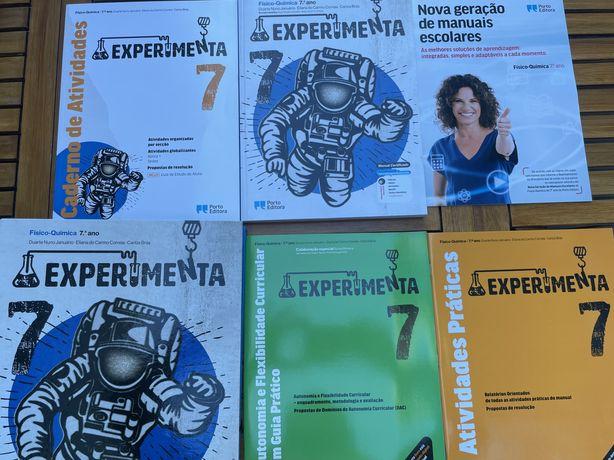 Livro do Professor - Experimenta 7 (Físico-química 7º ano)