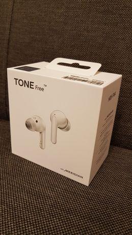 Słuchawki bezprzewodowe LG Tone Free HBS-FN4 białe