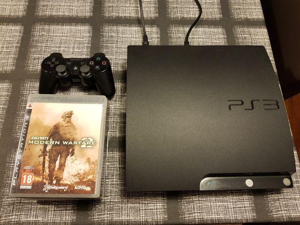 PlayStation 3 Slim 128gb + gry