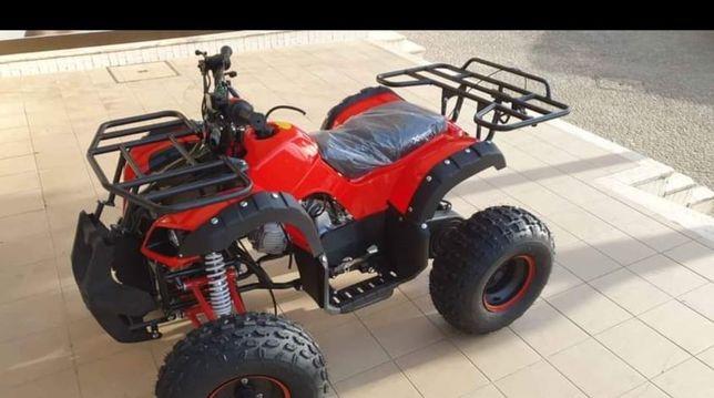 Moto4 gasolina 125cc 4 tempos automatica sem matricula