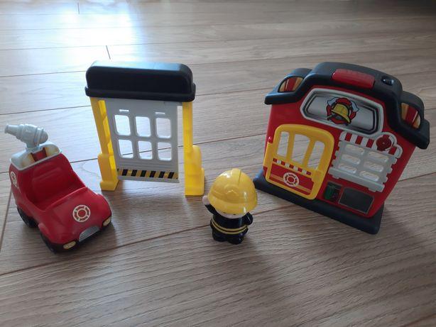 Remiza strażacka, straż pożarna Smily Play