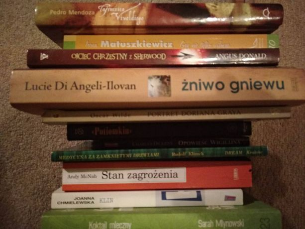 książki różnych autorów