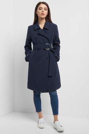 Płaszcz z szerokim paskiem Orsay rozmiar S