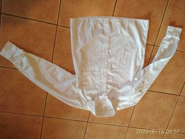 Biała koszula chłopięca 152 cm 12-13 lat stan bdb