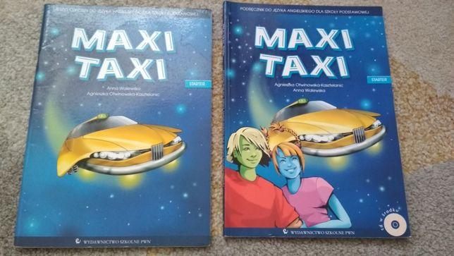 Maxi Taxi Starter, komplet podręcznik i zeszyt ćwiczeń