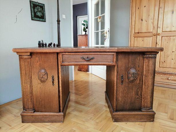 biurko miedzywojenne