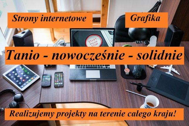 Tanie strony internetowe www profesjonalne oraz nowoczesne SEO